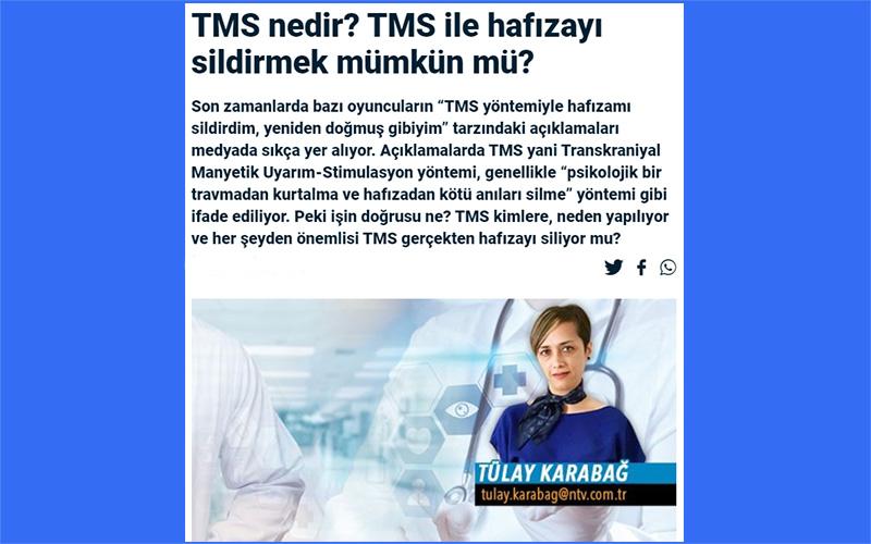 Psikiyatrik Hastalıklarda TMS Kullanımı